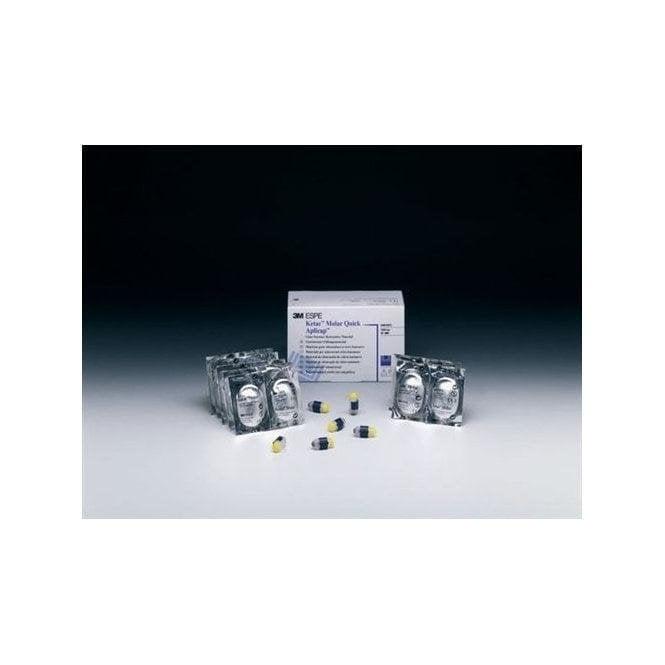 3M Ketac Molar Quick Aplicap Assorted (56369) - Box50