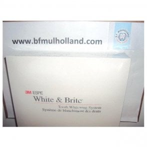3M White & Brite Carbamide Peroxide 10% Patient Kit
