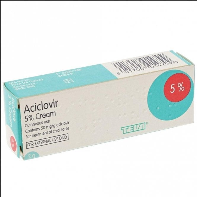 Aciclovir Cream 2g (ACYCR2)
