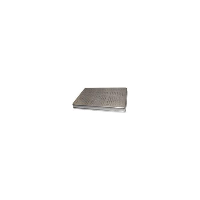 AM Dental Instrument Tray Lid Aluminium Perforated - Each