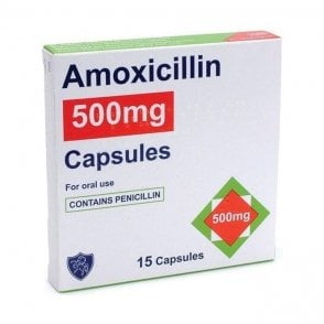 Generic Amoxicillin 500mg Capsules - Pack15