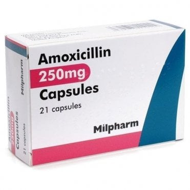 K/Pharm Amoxicillin Capsules BP 250mg - Pack21