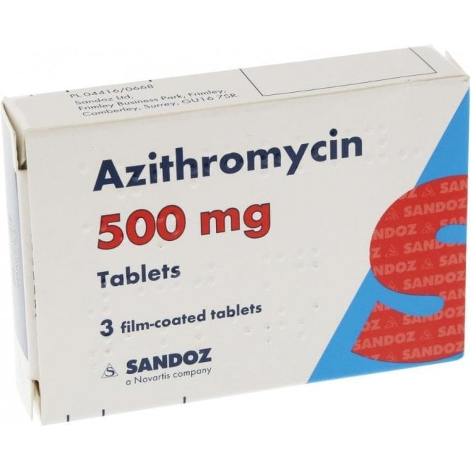 Azithromycin Tablets 500mg - Pack3