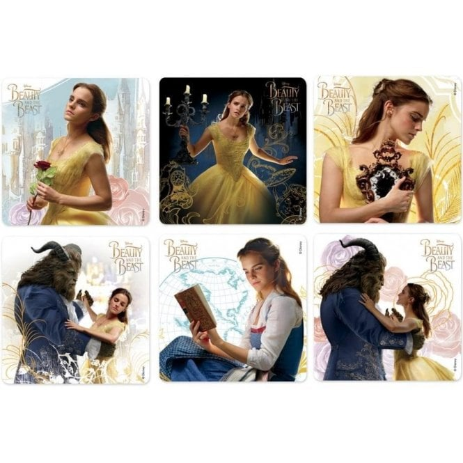 Beauty & The Beast Movie Stickers (PS634) - Roll100
