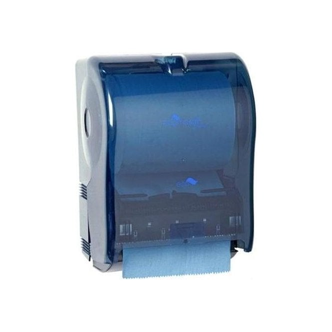BF Mulholland Electronic Towel Roll Dispenser (Blue) - Each