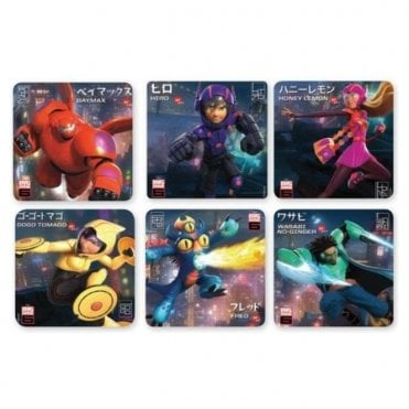 Sherman Big Hero 6 Stickers (PS588) - Roll 100