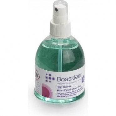 BossKlein Hand Disinfectant Rub 250ml BOS9791 - Each