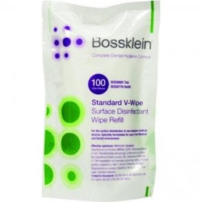 Bossklein Surface V-Wipes Lemon Refill (BOS9776) - Pack100