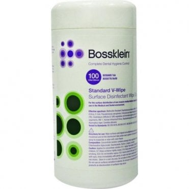 Bossklein Surface V-Wipes Lemon Tub (BOS0005) - Tub100