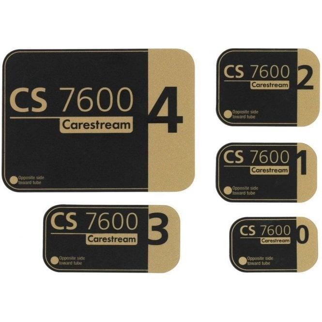 Carestream CS 7600 Smart Plate - Size 0 - 4 pcs (1059955)