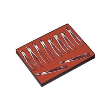 Carl Martin Forceps Set (10 Forceps) - Each