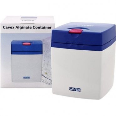 Cavex Alginate Container Blue - Each