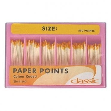 Classic C/C Paper Points 20/80 Assorted (EPA208) - Box500