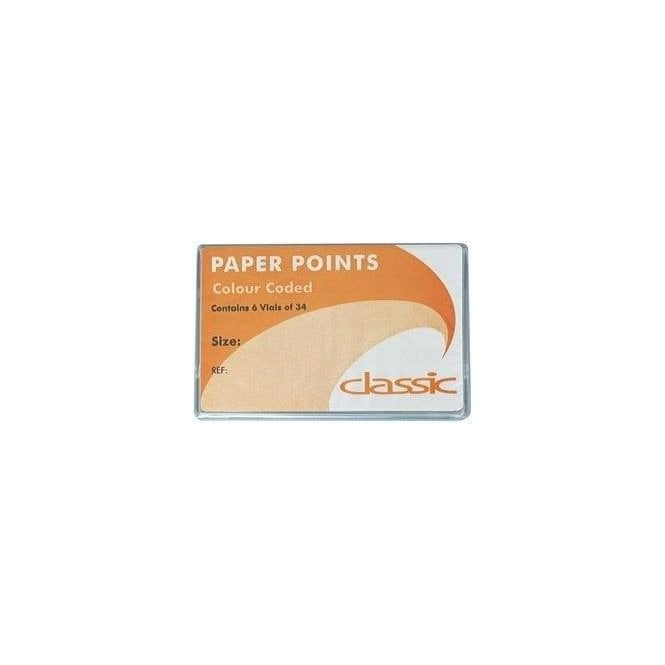 Classic C/C Paper Points No.25 6x34 (EPC025)