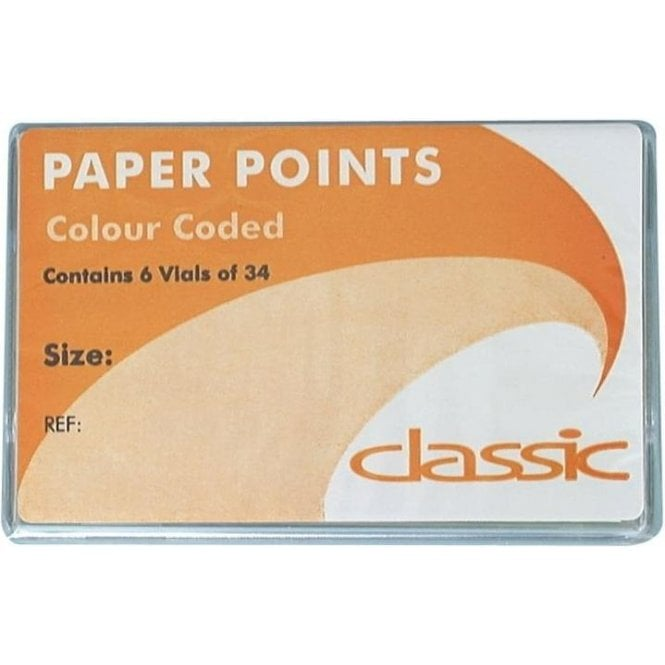 Classic C/C Paper Points No.60 6x34 (EPC060)
