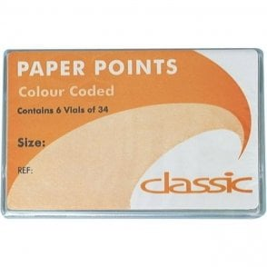 UnoDent Classic C/C Paper Points No.70 6x34 (EPC070) – Pack204