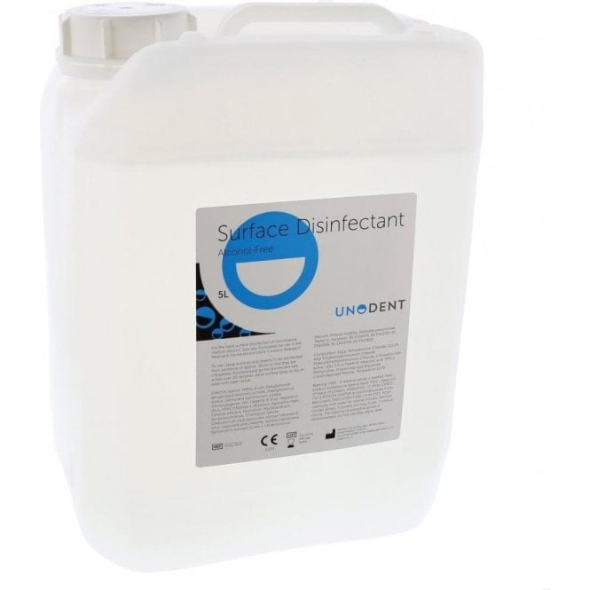 UnoDent Surface Disinfectant Alcohol Free 5Litre (GSC322)
