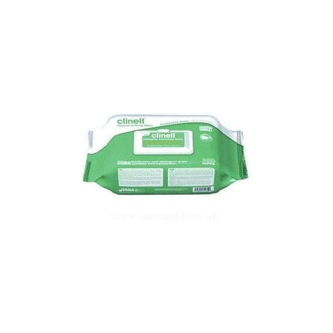 Clinell Universal Sanitising Wipe (Z6CW200) - Pack200