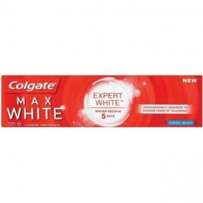 Colgate Max White Expert White Toothpaste Cool Mint 12x75ml