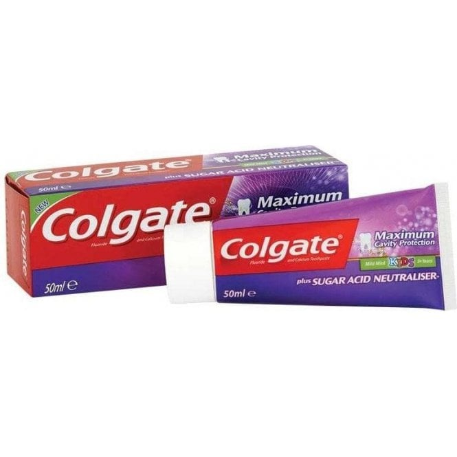 Colgate Maximum Cavity Protection Toothpaste Junior 12x50ml