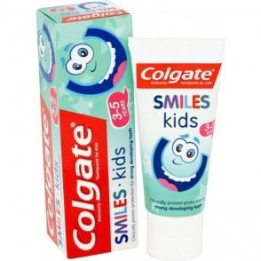 Colgate Smiles Toothpaste Kids 3-5 years 50ml - Pack12