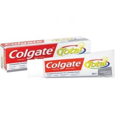 Colgate Total Advanced Clean Toothpaste 12x75ml - Pack12