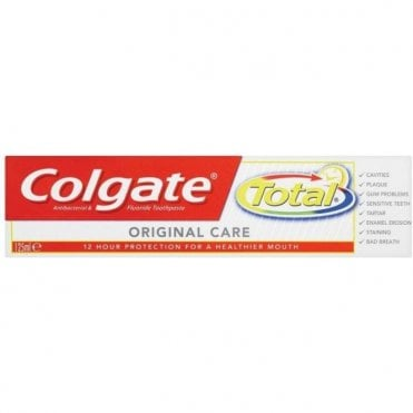 Colgate Total Advanced Mint Toothpaste 12x125ml - Pack12