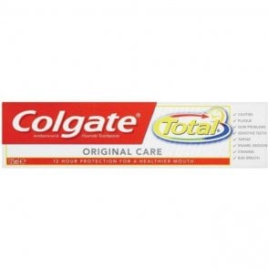 Colgate Total Original Care Mint Toothpaste 75ml - Pack12