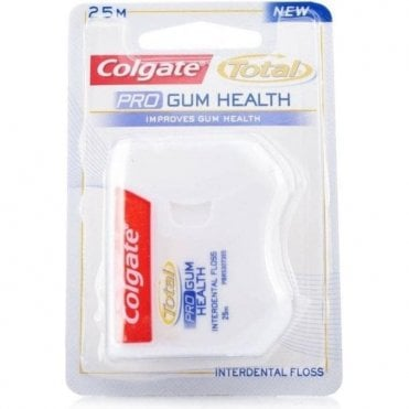 Colgate Total Pro Gum Health Floss 25m (207008) - Pack10