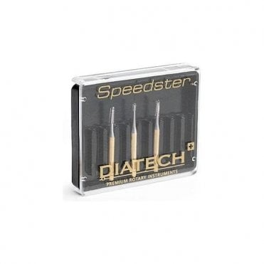 Coltene Diatech Speedster Burs S2 Inverted Cone 008 FG Pack5