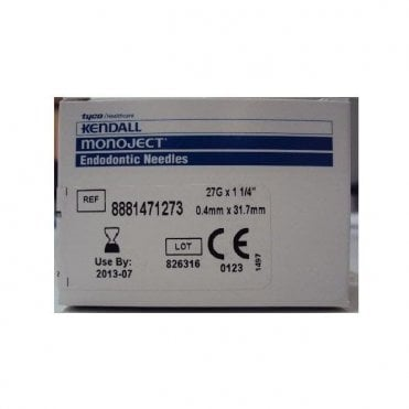 "Covidien Monoject Endodontic Needles 27gx1.25"" (8881471273)"