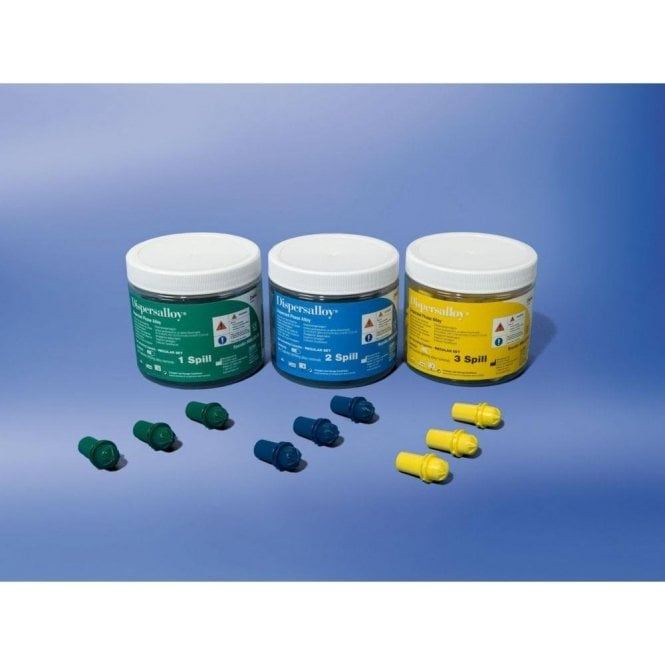 Dentsply Dispersalloy Fast Set 2 Spill (66002862S1) - Tub 50