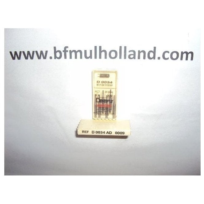 Dentsply Steel Burs Flat Fissure Cross Cut Size 1 RA 34/009