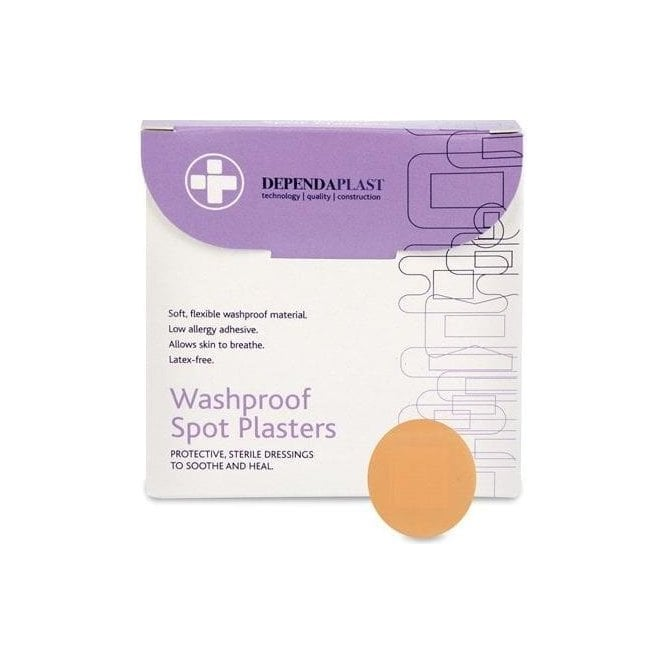 Dependaplast Spot Plasters L/F 2.2cm (5311) - Pack100