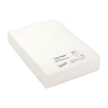 Depro Tray Lining Paper Unwaxed - Pack250