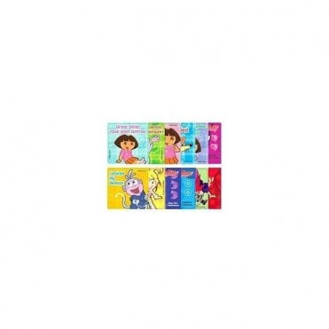Sherman Dora The Explorer Stickers (PS357) - Roll100