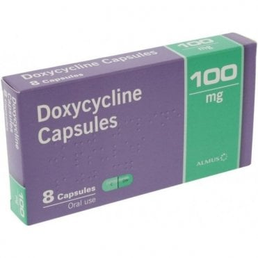 Waymade Doxycycline Capsules 100mg - Pack8
