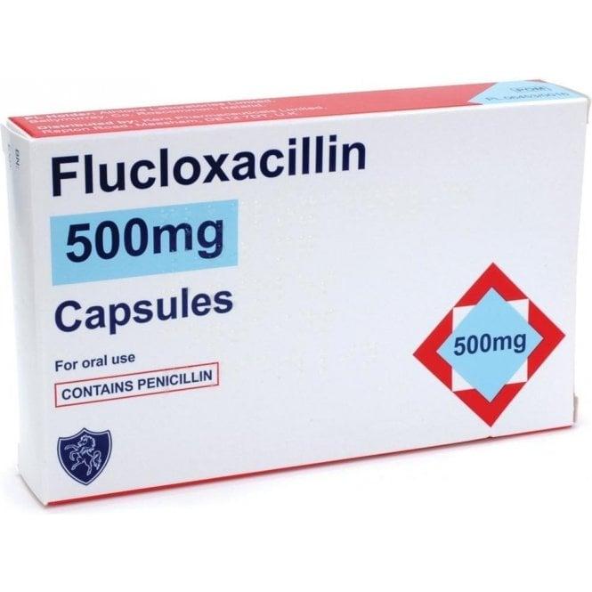 Flucloxacillin Capsules 500mg - Pack28