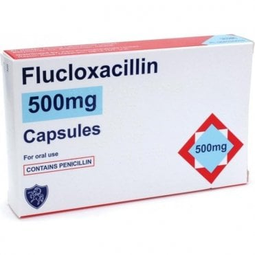 K/Pharm Flucloxacillin Capsules 500mg - Pack28