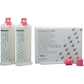 GC EXACLEAR Cartridges 2x51g (12792) - Pack2