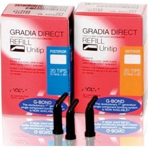 GC Gradia Direct Unitips Anterior A1 0.24g (1967) - Pack20