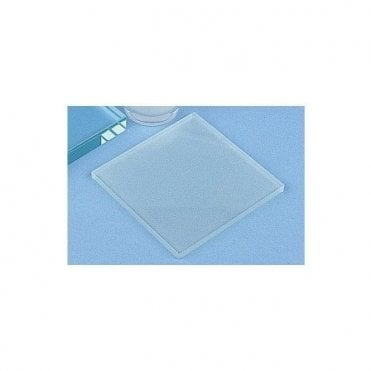 "Glass Mixing Slabs 4""x4""x0.25"" (Small) Smooth/Frosted - Each"