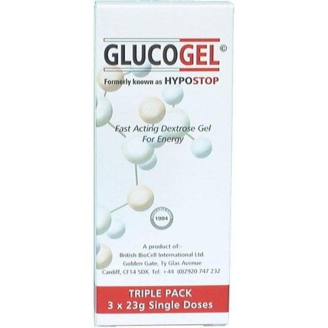 Glucogel 3x25g Tubes