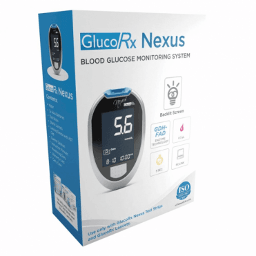 GlucoRx Nexus Blood Glucose Meter (GLU402P) - Each