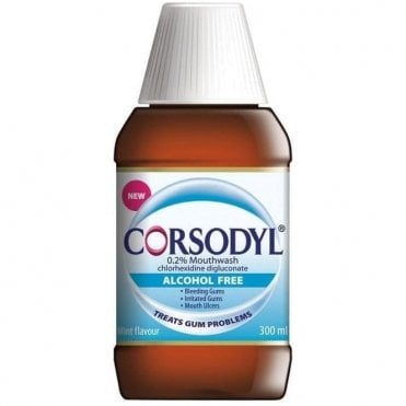 GSK Corsodyl Mouthwash Alcohol Free 6x300ml(60000000013913)