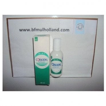 GSK Corsodyl Spray Mint 12x60ml (00758) - Pack12