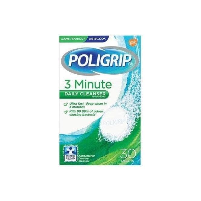 GSK Poligrip 3 Minute Daily Cleanser - Pack12