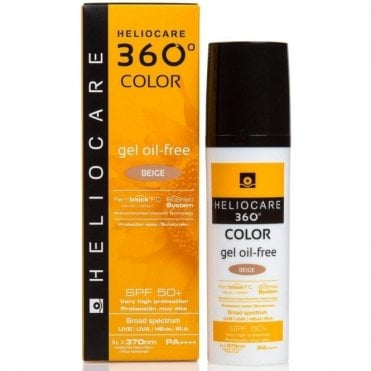 Aestheticare Heliocare 360 Color Oil Free Gel Beige SPF50+ 50ml (3000029)