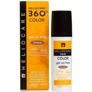 Aestheticare Heliocare 360 Color Oil Free Gel Bronze SPF50+ 50ml