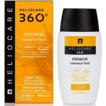 Aestheticare Heliocare 360 Mineral Tolerance Fluid SPF50 50ml (3000030)
